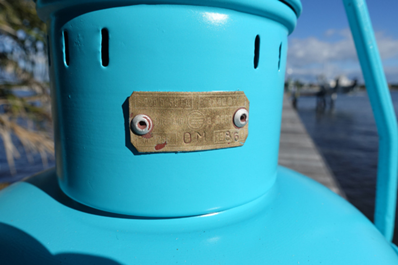 Satin Seaside Nautical Anchor Ship's Light
