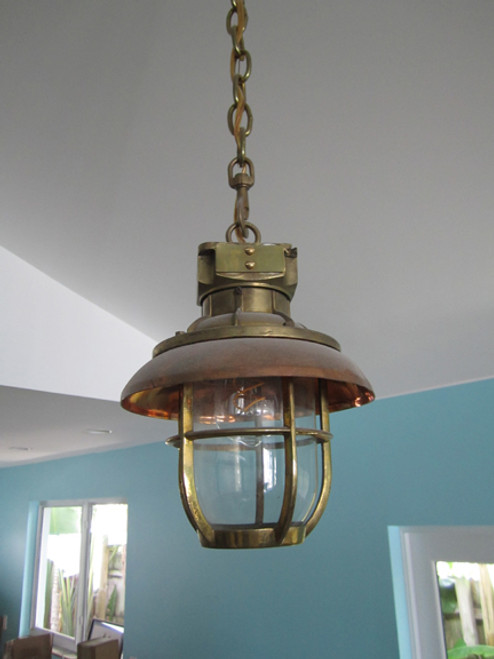 US Navy hanging light