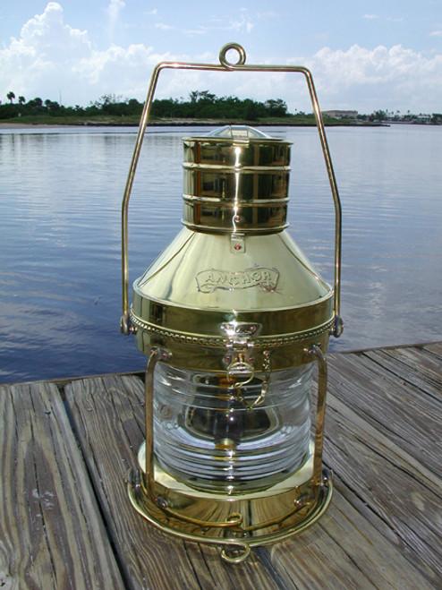 Brass anchor light