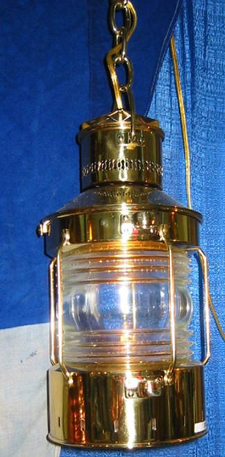 brass nautical ship light