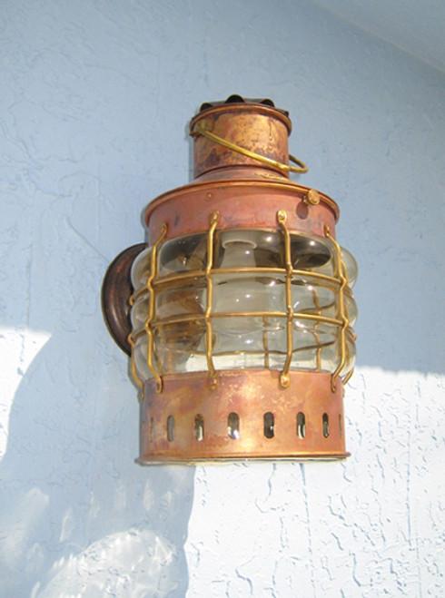 marine bracket globe light