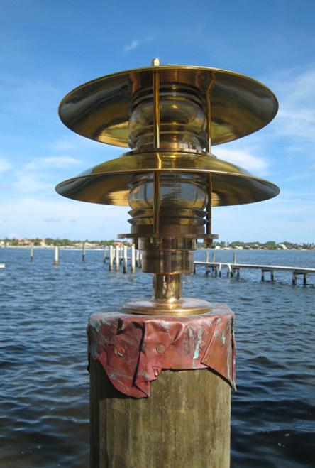 pagoda nautical dock light