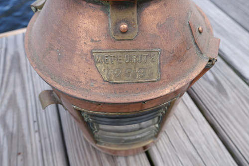 copper signal marine light