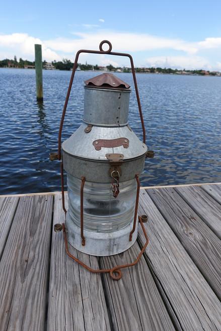 Galvanized XL Anchor Ship's light-rustic Galvanized color