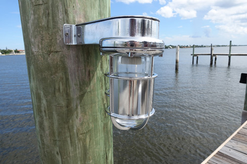 chrome turtle friendly dock light