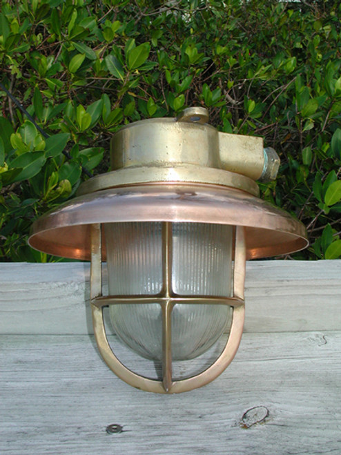 US Navy small copper light