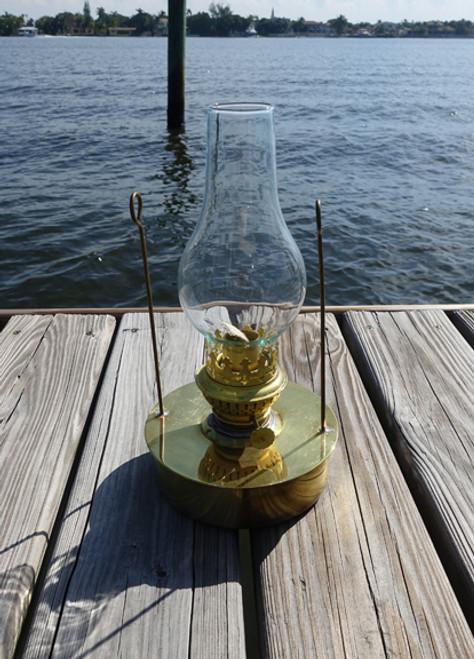 brass nautical decor oil lantern pod