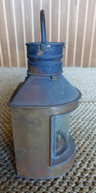 Nautical copper ship's lantern