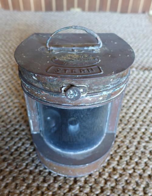 Tung Woo copper stern nautical light