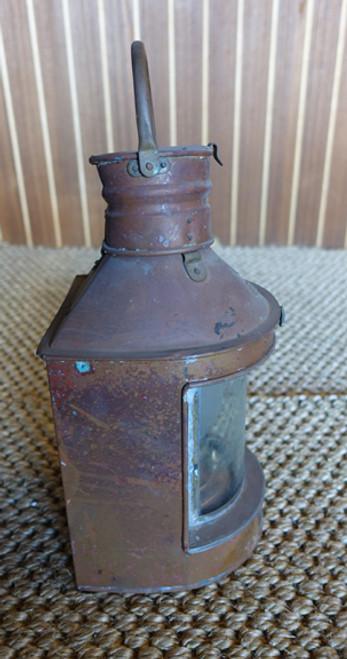 patina nautical ship's lantern