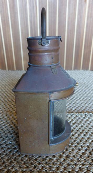 patina copper nautical ship light