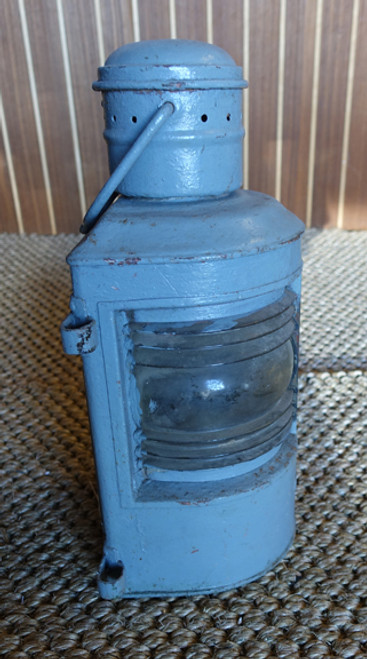 vintage battleship gray nautical light