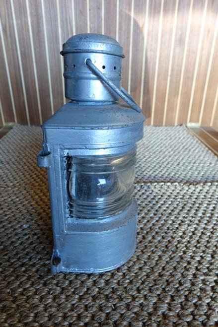 rustic old ship lantern