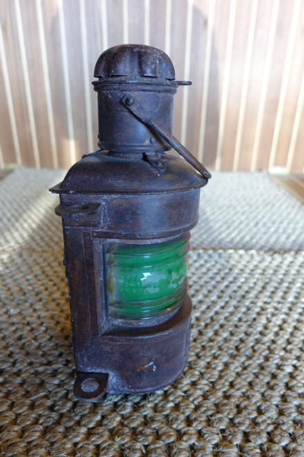 galvanized small nautical lantern