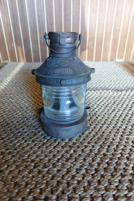 "Copper ""Tung Woo"" nautical light"