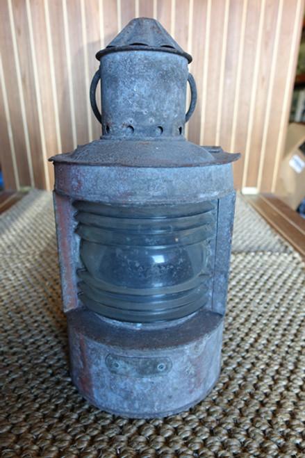 nautical restaurant ship lantern