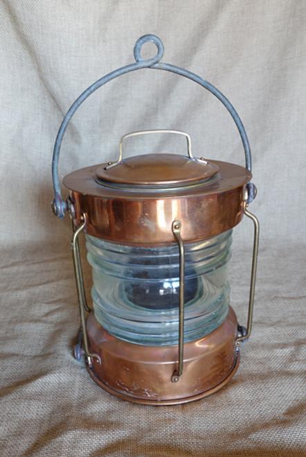 """Copper """"Meterite"""" Anchor light"""