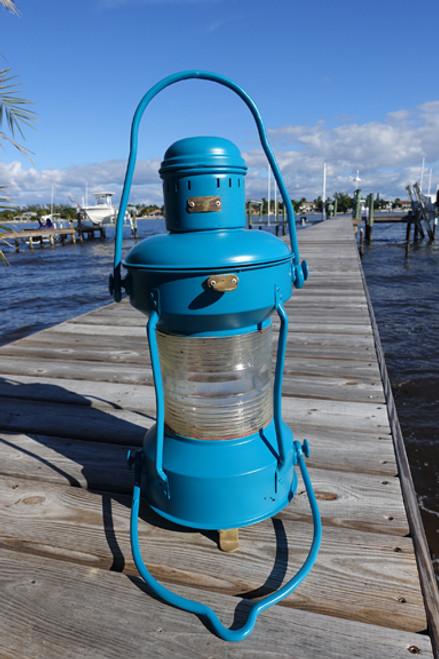 Satin Lagoon Nautical Anchor Ship's Light