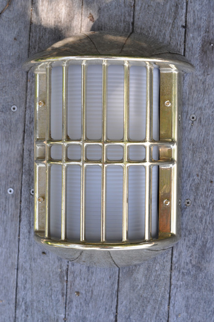Brass Admiral wall sconce nautical light