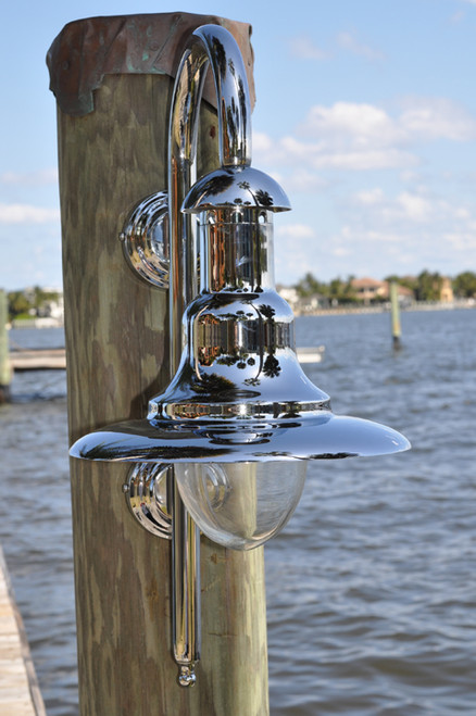 Chrome Nautical Marine Sconce light