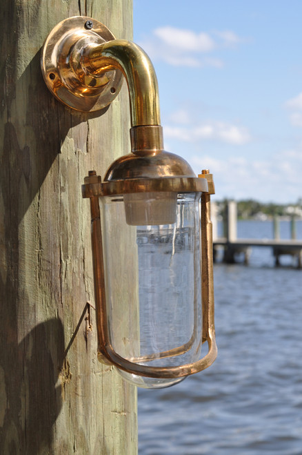 Deep Sea marine wall sconce light