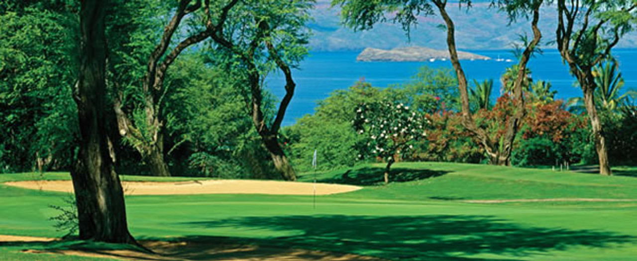 Wailea Blue Golf Course | Enjoy the large Pacific views from many holes that Wailea Golf offers |  SAVE with the Maui Golf Shop.