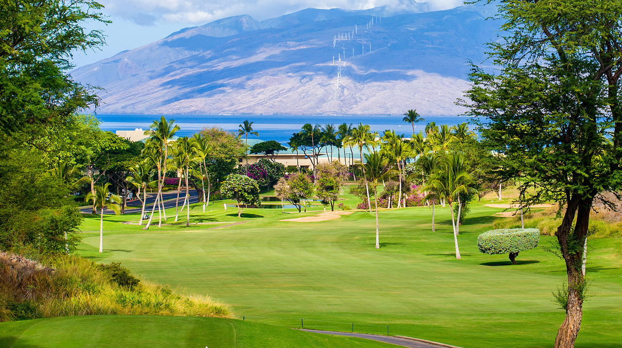 Wailea Blue Golf Course | Wailea Golf is the best Golf on Maui | BOOK now with the Maui Golf Shop.