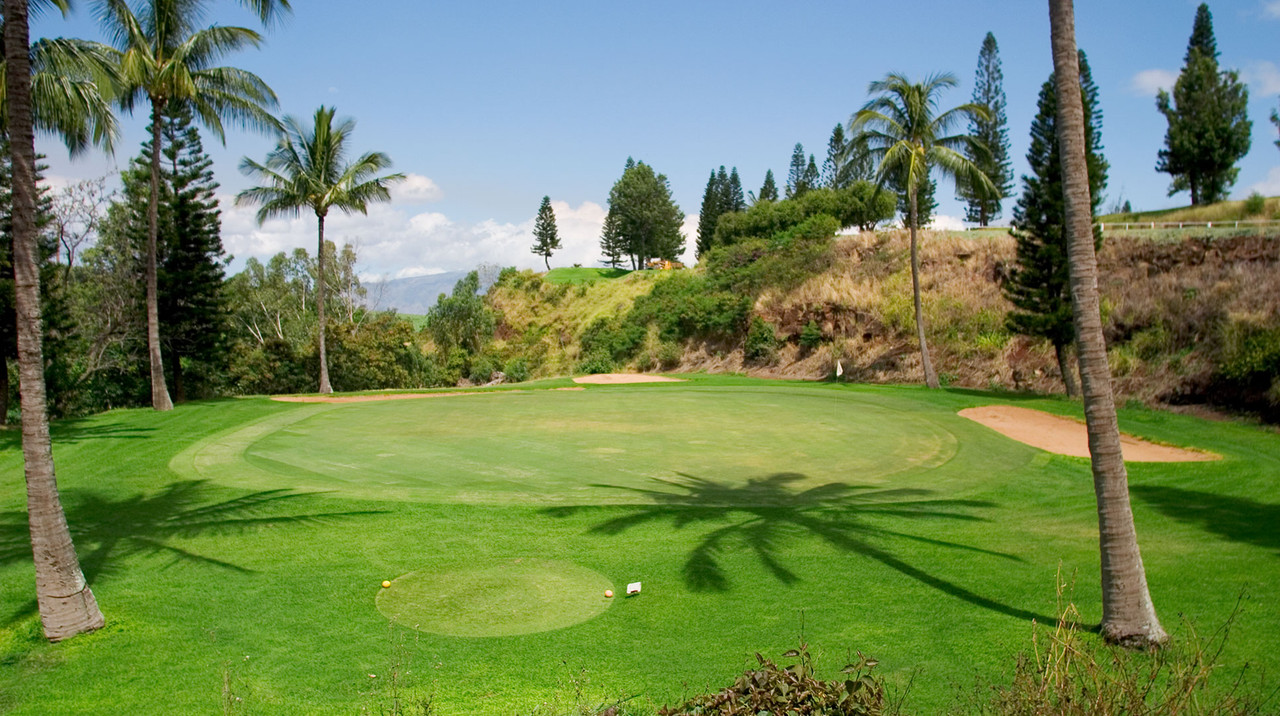 Pukalani Country Club |  Pukalani is located in the slopes of Haleakala and is 10 degrees cooler than costal Maui Golf Courses | BOOK now and SAVE with the Maui Golf Shop.