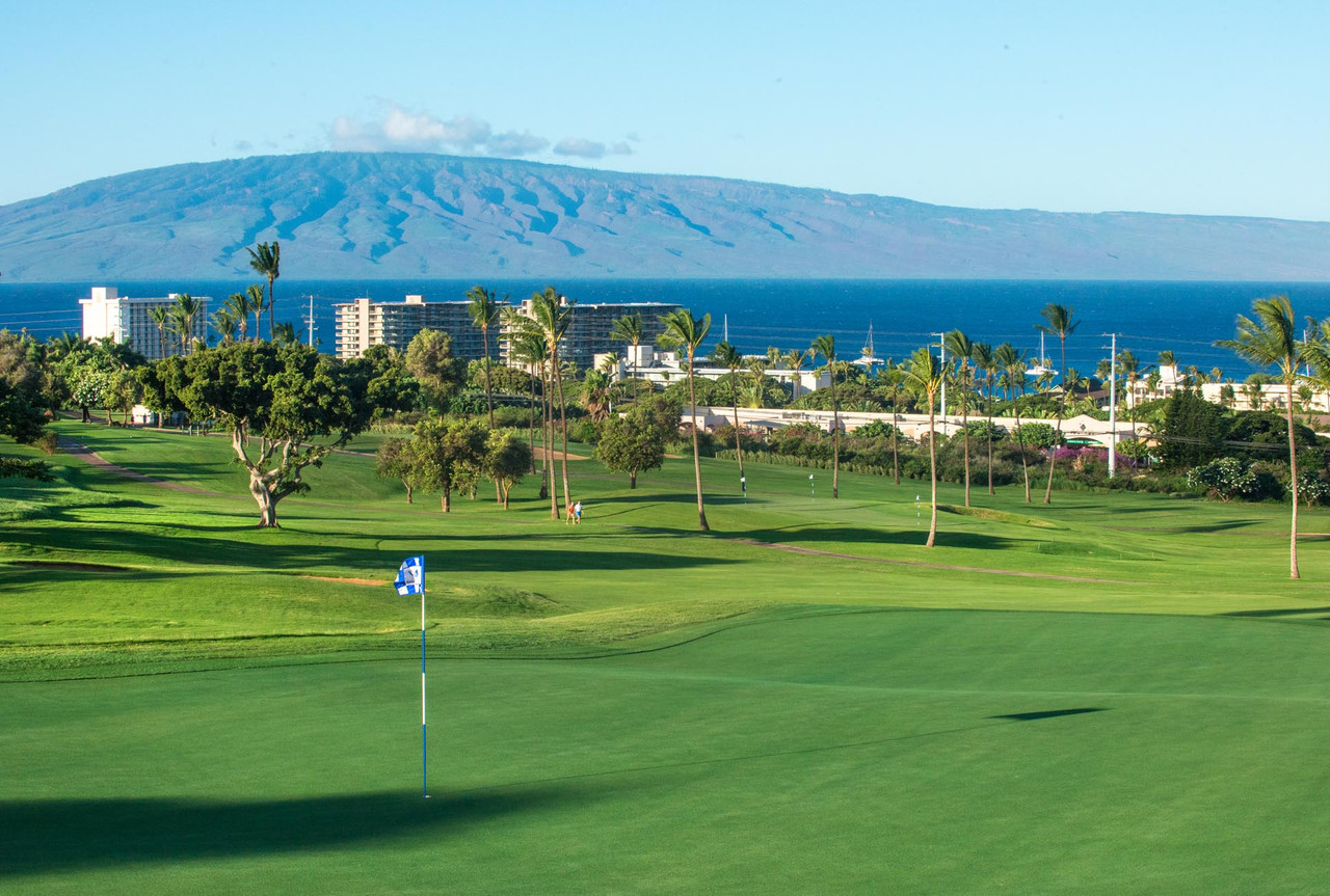 Kaanapali Royal Golf Course |  Kaanapali Royal stretches along the western coastline before heading up to the foothills of the West Maui Mountains| Golf on Maui and SAVE with the Maui Golf Shop.