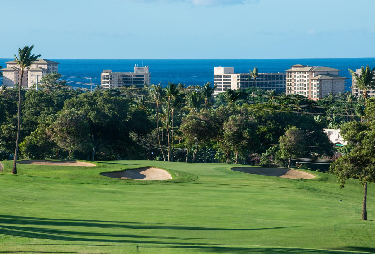 Kaanapali Kai Golf Course | Conveniently located in the heart of popular resort town of Kaanapali | BOOK today and save with the Maui Golf Shop