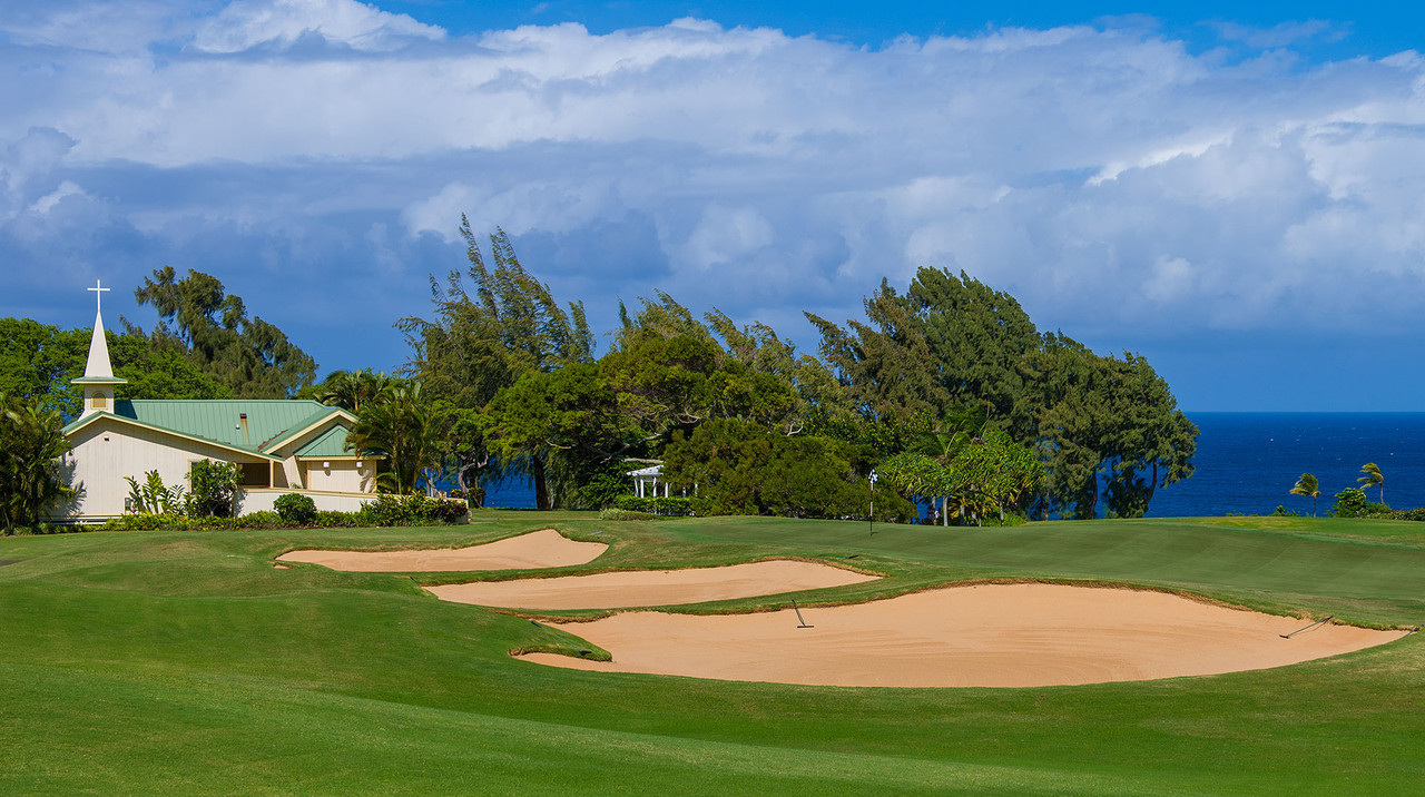 Kapalua Bay Course | Enjoy the sloping green fairways and Pacific trade-winds at Kapalua Bay.  Book NOW and SAVE $10pp at Kapalua Bay Course | Maui Golf Shop