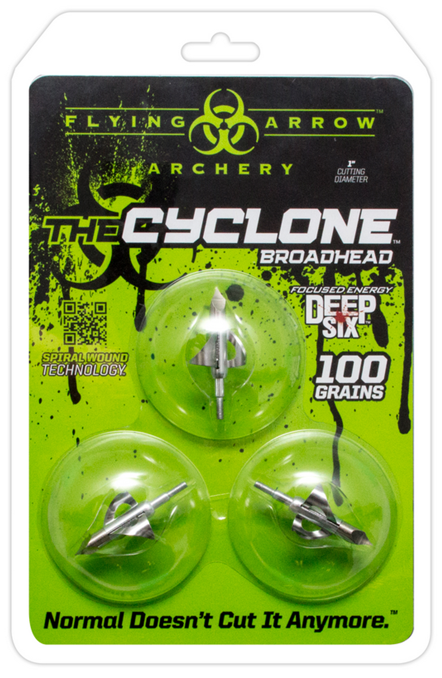 CYCLONE 100 GRAIN – SILVER DEEP SIX