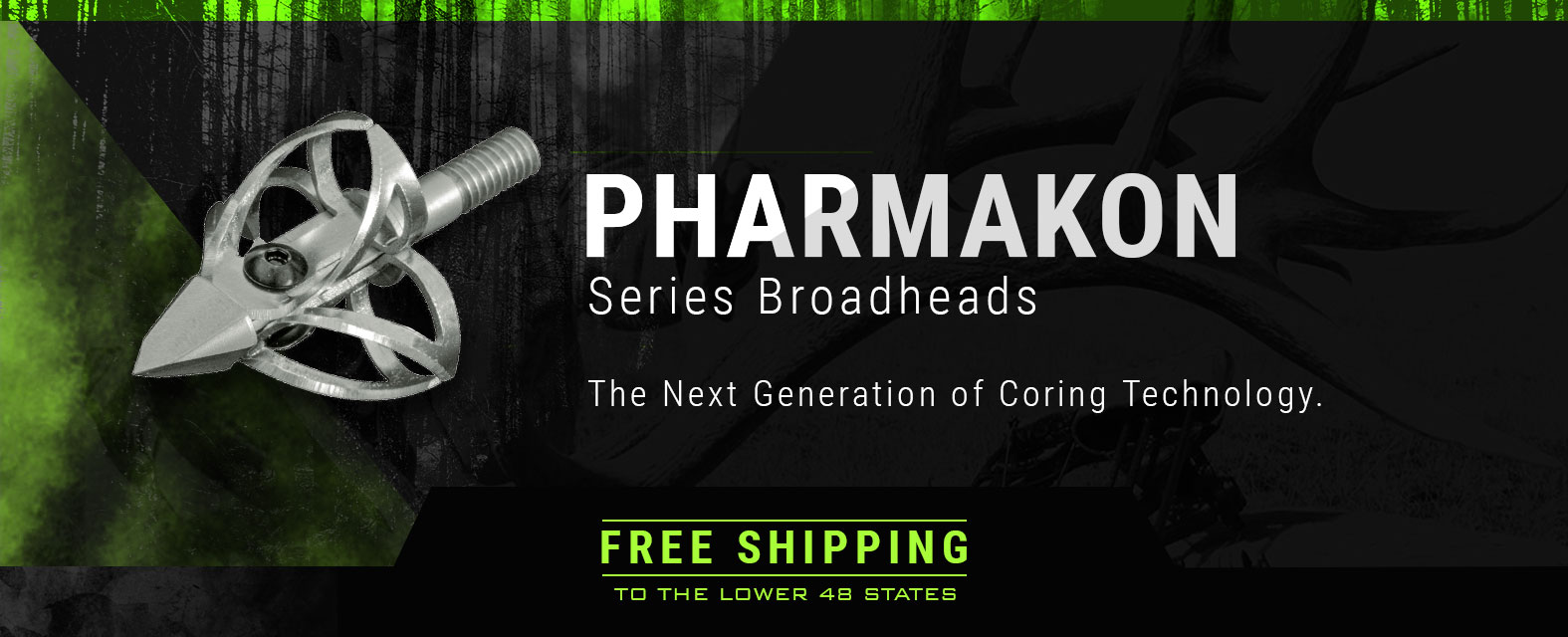 Pharmakon Series Broadheads - The Next Generation of Coring Technology