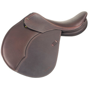 Adjustable Genesis tree Soft double leather  Forward flap preferred by jumper riders Integrated comfort foam panels for consistency and comfort