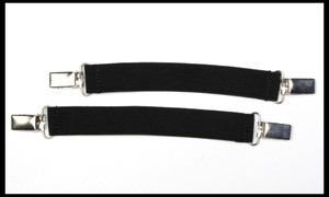 Clip On feature ideal for jodphurs  without button holes   Adjustable elastic