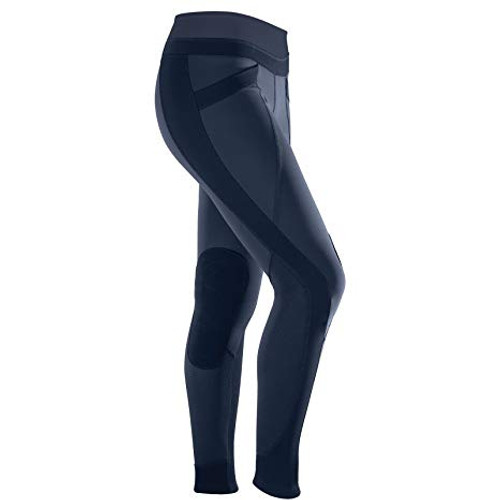 Features 4 technical fabrics Compression tight for excellent muscle support Sporty Criss Cross fabric panels Knee Patches for comfort and grip