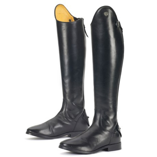 Elegant and beautiful! Features leather lining with elastic gusset and full length YKK zipper