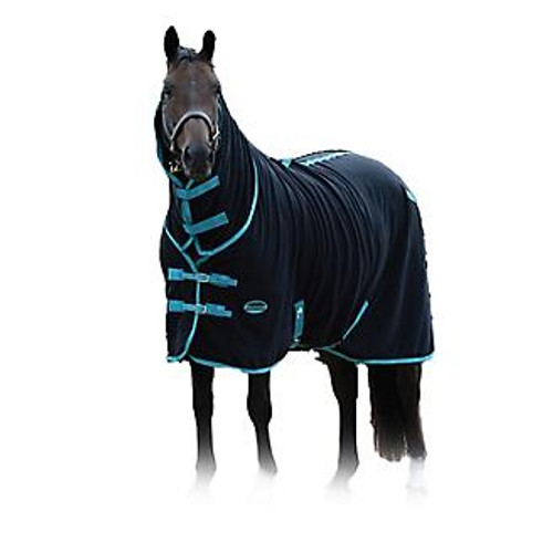 Facilitates easy wicking of moisture Anti-pill finish with nylon lined shoulders Low cross surcingle Attached neck