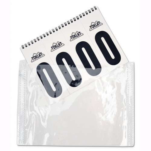 Vinyl replacement Number pockets Sold as a pair *Spiral Bound Number packet sold separately*