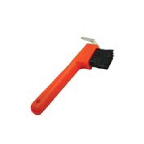 Strong and durable Attached nylon bristle brush  Colorful options