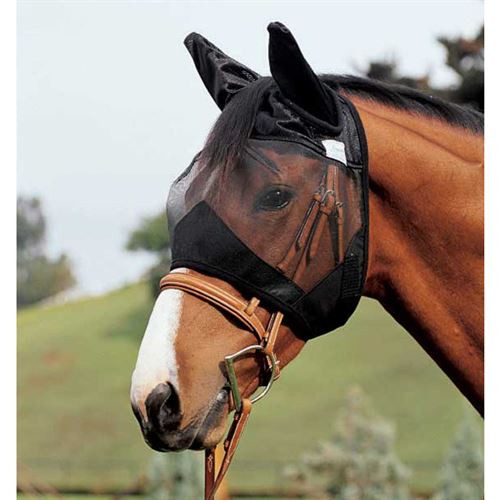 Cashel Crusader Quiet Ride Fly Mask with Ears