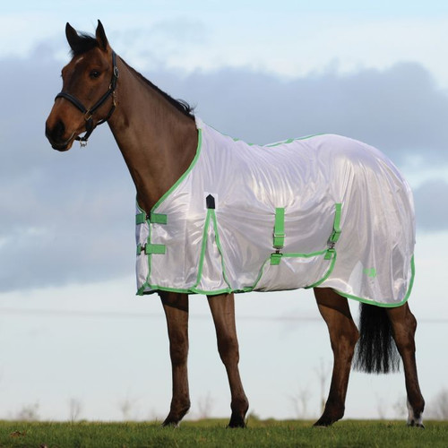 Saxon Mesh Fly Sheet with Gusset Belly Wrap & Standard Neck