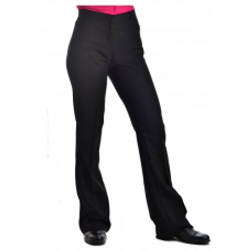 RHC EQUESTRIAN FINE APPAREL LADIES SHOWMANSHIP PANTS- BLACK