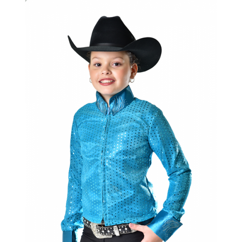 RHC EQUESTRIAN RIDING APPAREL YOUTH WESTERN SEQUIN SHOW JACKET