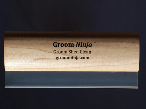 "LARGE 8"" WATER SCRAPPER GROOM NINJA!"