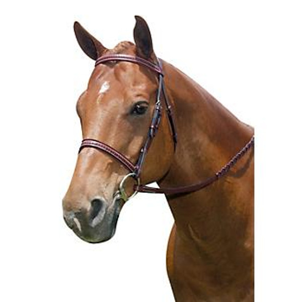 Economical choice without giving up elegance! Comfort crown with elegant braiding on browband and noseband Laced reins