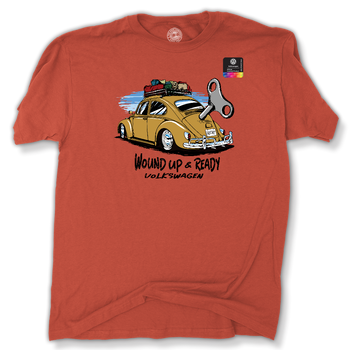 VW Bug Wound UP T-Shirt