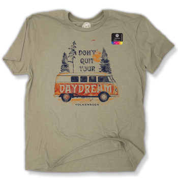 VW Bus Don't Quit Your Daydream T-shirt
