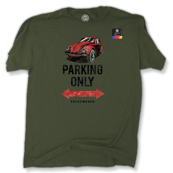 VW Bug Parking Only T-Shirt