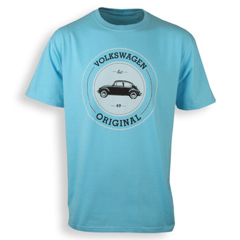 VW Original Beetle T-Shirt - Blue
